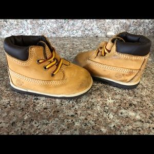 Boys Timberlands size 2